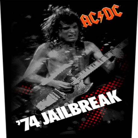 Back patch AC/DC - 74 Jailbreak