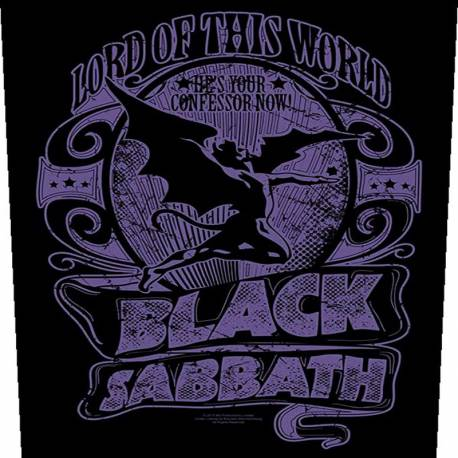 Back patch BLACK SABBATH - Lord Of This World