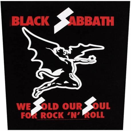 Back patch BLACK SABBATH - We Sold Our Souls