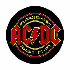 Back patch AC/DC - High Voltage Rock N Roll