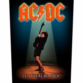 Back patch AC/DC - Let There Be Rock
