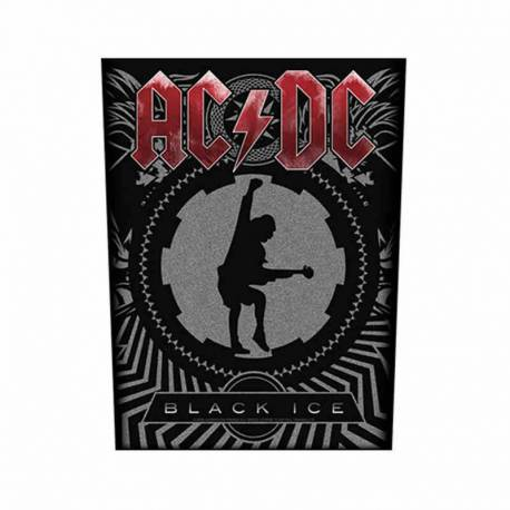 Back patch AC/DC - Black Ice
