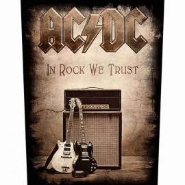 Back patch AC/DC - In Rock We Trust