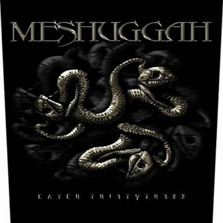 Back patch MESHUGGAH - Catch 33