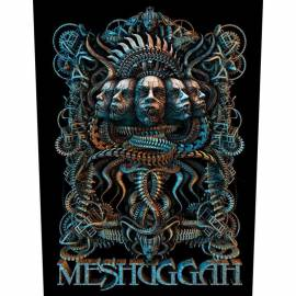 Back patch MESHUGGAH - 5 Faces