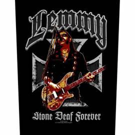 Back patch LEMMY - Stone Deaf Forever