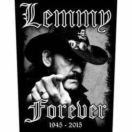 Back patch LEMMY - Forever
