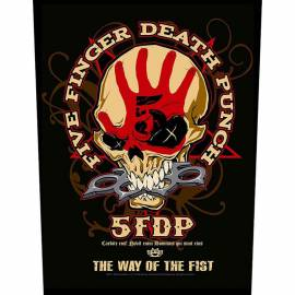 Back patch FIVE FINGER DEATH PUNCH - Way Of The Fist