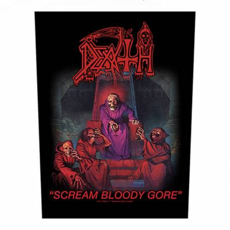 Back patch DEATH - Scream Bloody Gore