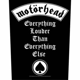 Backpatch MOTORHEAD - Everything Louder