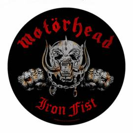 Backpatch MOTORHEAD - Iron Fist