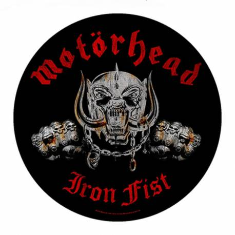 Backpatch MOTORHEAD - Iron Fist
