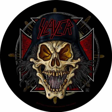 Back patch SLAYER - Wehrmacht Circular