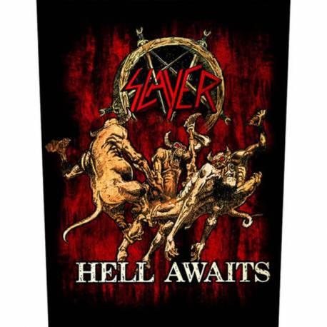 Back patch SLAYER - Hell Awaits