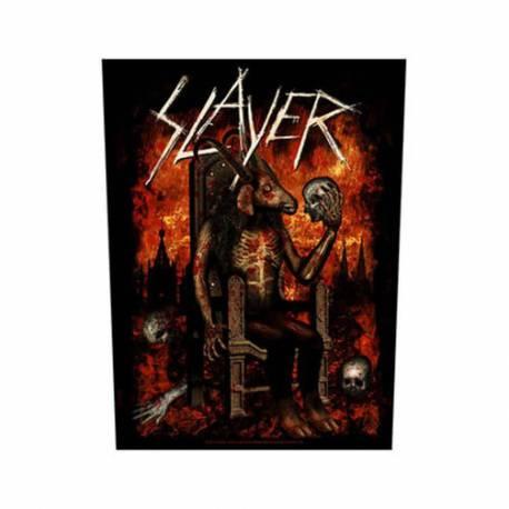 Back patch SLAYER - Devil On Throne