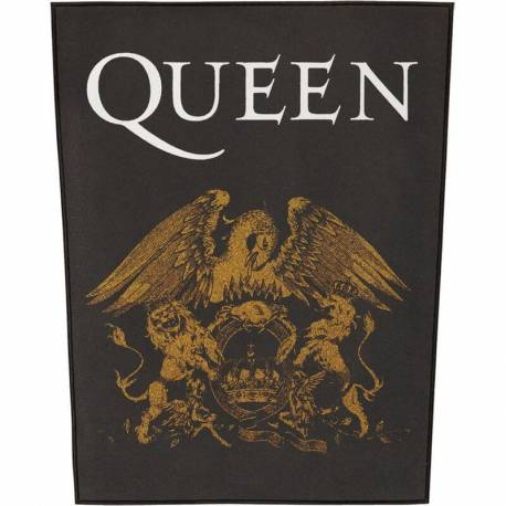 Back patch QUEEN - Crest Logo