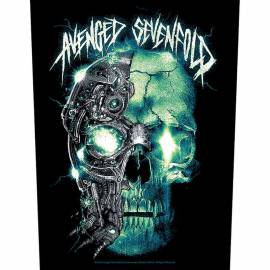 Back patch AVENGED SEVENFOLD - Mechanical Skull