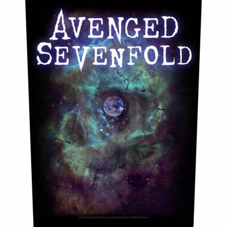 Back patch AVENGED SEVENFOLD - Nebula