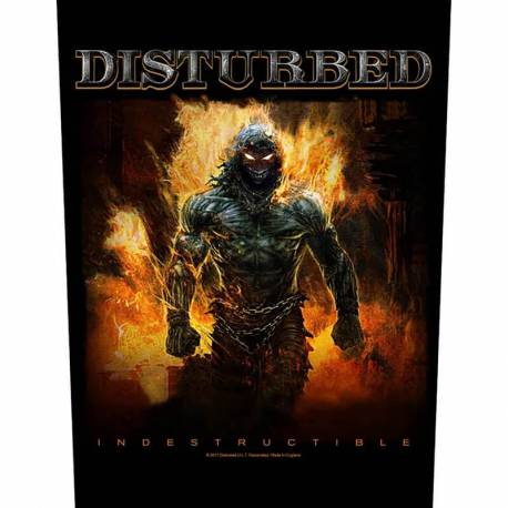 Back patch DISTURBED - Indestructible