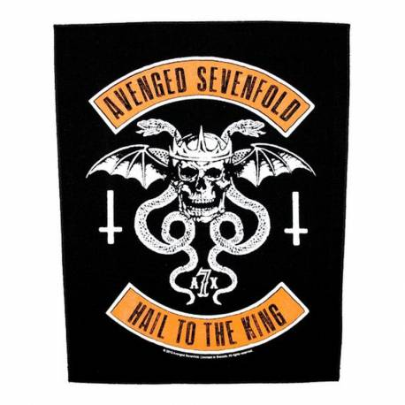 Back patch AVENGED SEVENFOLD - Biker