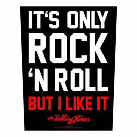 Back patch THE ROLLING STONES - It s Only Rock n Roll