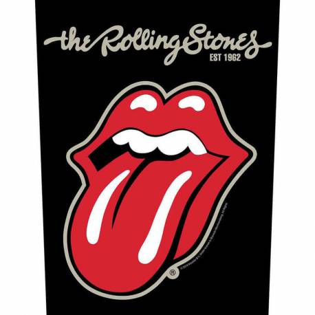 Back patch THE ROLLING STONES - Plastered Tongue