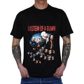 Tricou SYSTEM OF A DOWN - Band - Color