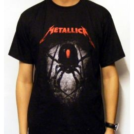 Tricou METALLICA - Black Widow