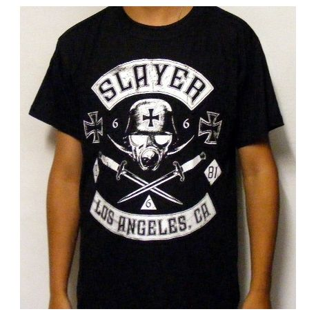 Tricou SLAYER - Gas Mask