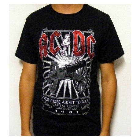 Tricou AC/DC - For Those About To Rock