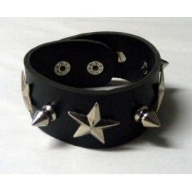 Bratara Native Art - STARS & SPIKES